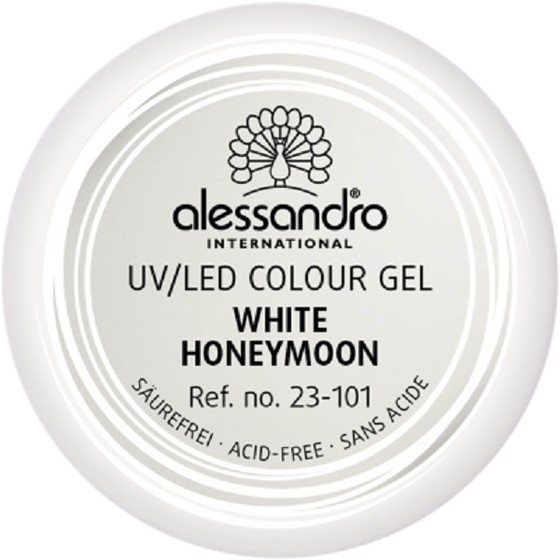alessandro Colour Gel 101 White Honeymoon