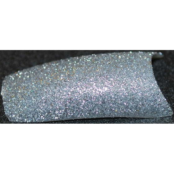 GUILL D´OR Glitter Party Tips Silver Star