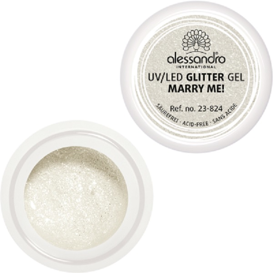 alessandro UV GLITTER GEL Marry Me 5g / 4,58ml / 016 fl.oz